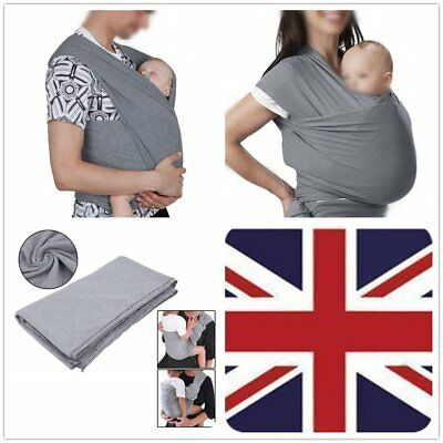 24962eda83b Baby Sling Adjustable Stretchy Wrap Best Baby Carrier - Available In 3  Sizes UK