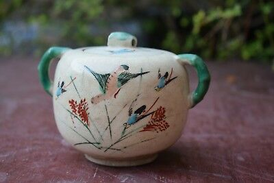 Antique Japanese Kinkozan Satsuma Porcelain
