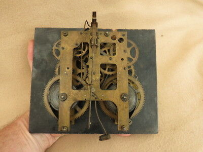 Antique W Gilbert Clock Co Movement Dial Hands Etc