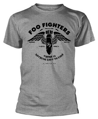Foo Fighters 'There Is Nothing Left To Lose' (Grey) T-Shirt - NEW & OFFICIAL!