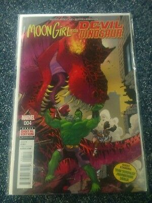 MOON GIRL AND DEVIL DINOSAUR (2015) #4 - New Bagged (S)