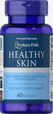 18,00 € -  Healthy Skin with Ceramosides ® Puritan's Pride 40 softgels