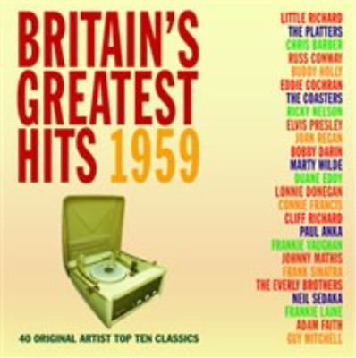 Various Artists-Britiain's Greatest Hits 1959 (UK IMPORT) CD NEW