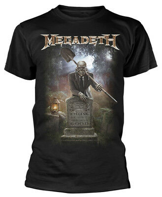 Megadeth '35 Years Graveyard' T-Shirt - NEW & OFFICIAL!