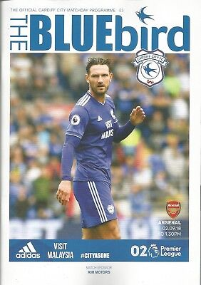 CARDIFF CITY v ARSENAL  2018/19