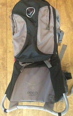 Osprey Poco Premium Baby Carrier with detachable rucksac and sun/rain cover