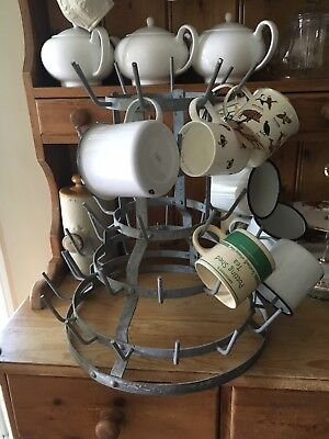 Antique French Bottle Dryer