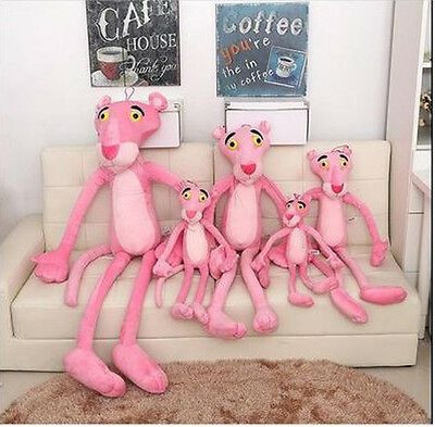 59''/150cm Pink Panther Stuffed Animals Plush Baby Doll Toys Kids Gift Animation