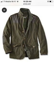 Men Barbour Wyton Jacket Color Olive  XL  New Without Tag