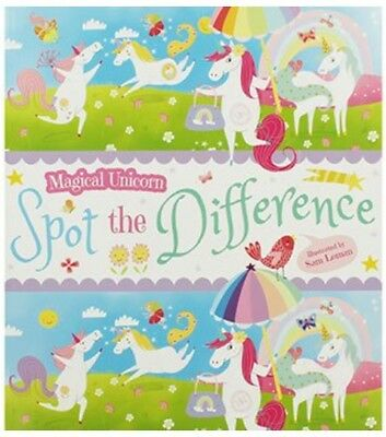 Magical Unicorn Spot The Difference Book. Arcturus. Children's Christmas Gift