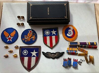 WWII AAF Army Air Force Fighter Pilot 23rd Fighter Group 118th TRS Wings Patches