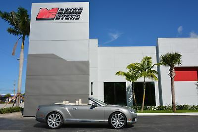 2013 Bentley Continental GTC V8 Convertible GT V8 2013 BENTLEY GTC V8 CONVERTIBLE - RARE COLORS - WELL APPOINTED - FLORIDA