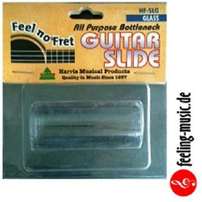 "Harris ""Feel-no-Fret"" Bottleneck / Slide für Gitarre, Glass, HF-SLG"