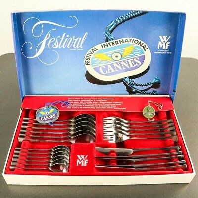 WMF Besteck Festival Modell Cannes 22 Teile Cromargan in Box