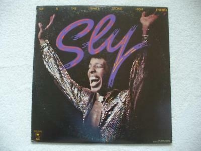 """Sly And The Family Stone """"high Energy"""" Rare 1975 Us Orig. Do-Lp Top Mint- Funk"""