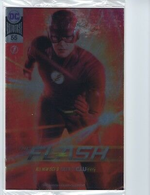 FLASH # 55 (NYCC 2018 Exclusive PHOTO SILVER FOIL VARIANT), NM NEW
