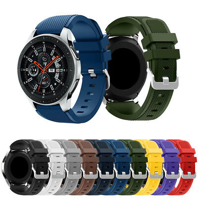 Silicone Soprt Replacement Bracelet Strap Band For Samsung Galaxy Watch 46mm
