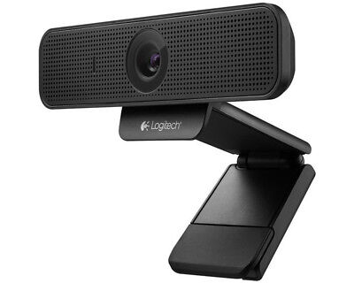 Logitech PC Webcam HD Pro C920 schwarz 960-001055