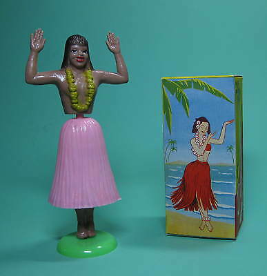 HAWAiiAN DANCER ROCK PINK ORiGiNAL HULA GIRL HAWAI TÄNZERiN OVP ANLEITUNG 1957!