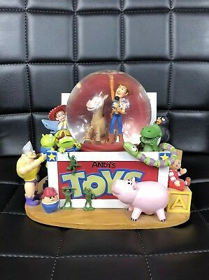 Disney Toy Story Andys Toy Box Snowglobe Plays You Got A Friend In Me