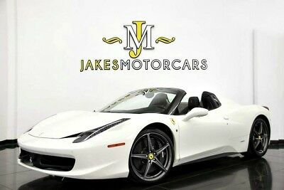 2014 Ferrari 458 Spider**$341,000 MSRP!**FACTORY ORDERED TWO-TONE** 2014 FERRARI 458 SPIDER~$341,000 MSRP!~FACTORY TWO-TONE PAINT~ HIGHLY OPTIONED!