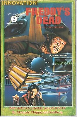 Freddy's Dead The Final Nightmare (1991) #2 Innovation Vf /1364/