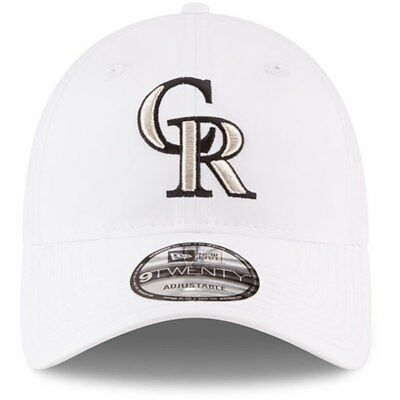 buy popular b13a4 4f5f4 New Era brand new Colorado Rockies hat ,white,flexible. one size fits all