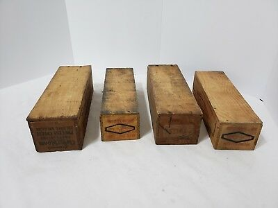 Vintage Wooden Cheese Box Lot