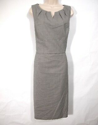 Nwt Whbm White House Black Market Womens Dress 16 Houndstooth Sheath Career