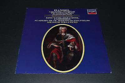 Handel~Chandos Anthems~The Lord Is My Light~Sir David Willcocks~FAST SHIPPING