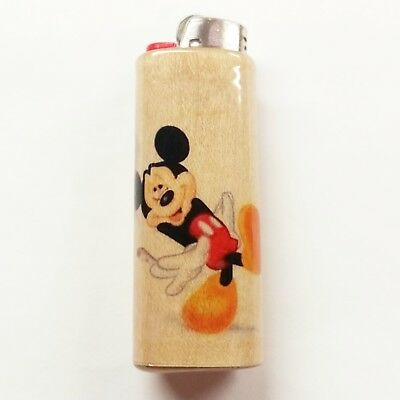 Mickey Mouse Joint Lighter Case Holder Sleeve Cover Fits Bic Lighters