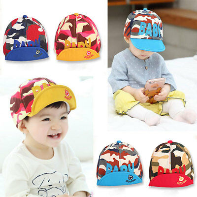 Fashion Camouflage Baseball Cap Unisex Cotton Boys Girls Baby Baseball Cap