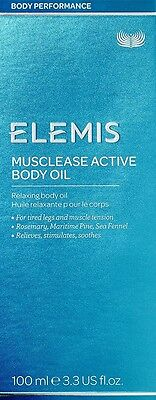Elemis Musclease Actif Huile pour le Corps 101ml/100ml Expt 2021 Buy 5 Get 1