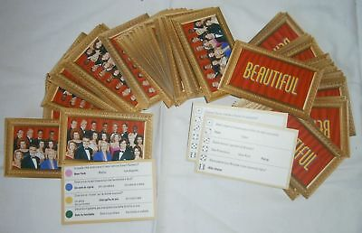 "150 carte gioco ""Beautiful"""