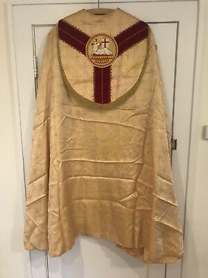 Gold Cope No Chasuble
