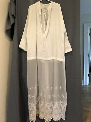 Vintage Lace Alb + Traditional Vestment For Priest Clergy