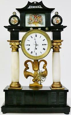 Antique 18thC Austrian 8Day Grande Sonnerie Strike & Musical Barrel Mantle Clock