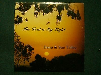 The Lord Is My Light Dana & Sue Talley~RARE AUTOGRAPHED 1980s Private Xian