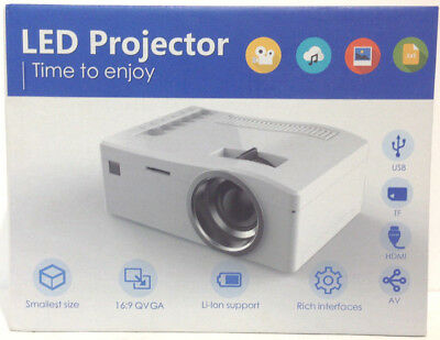 Mini Portable Projector UC18 Video Digital LED Projector UT54-A5