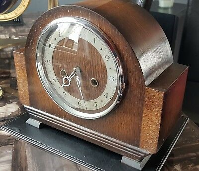 Vintage Enfield Mantel Clock with Chimes