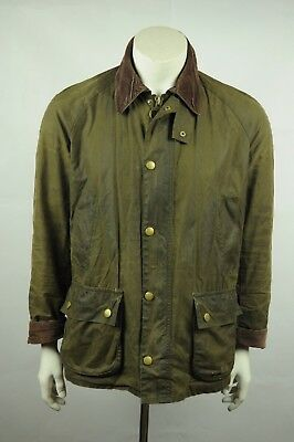 Barbour Ashby waxed jacket M OLIVE