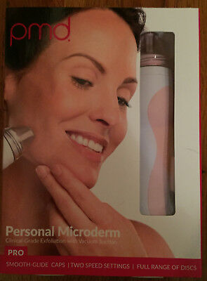 PMD Personal Microderm PRO - At-Home Device in Blush - NIB