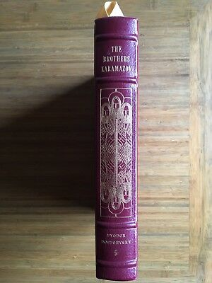 Easton Press The Brothers Karamazov, Collector's Edition, Leather