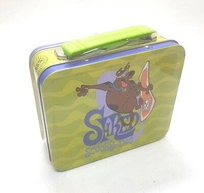 Scooby-Doo Surfing Shred Cartoon Network Season 1 Metal Mini Lunch Box Tin Shred