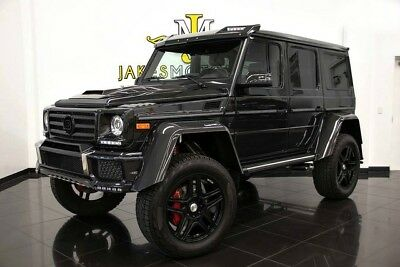 2017 Mercedes-Benz G-Class G 550 4x4 Squared **BRABUS BODY PACKAGE** 2017 MERCEDES G550 4X4 SQUARED ~ UPGRADED BRABUS BODY PACKAGE~ ONE-OF-KIND!
