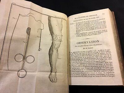 1819 ROYAL ACADEMY OF SURGERY - surgical Instruments with 22 Engravings