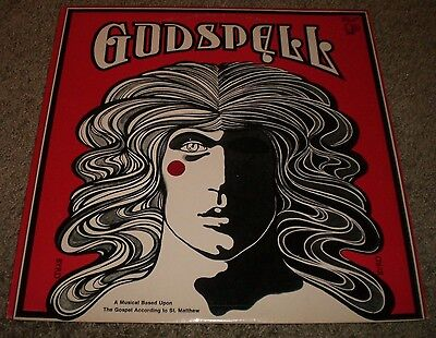 Godspell Musical Soundtrack~Original Inner Lyric Sleeve~Bell 1102~FAST SHIPPING!