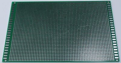 Double Sided PCB Universal Proto Perf Board Through Plated 12 x 18 cm USA  Ship