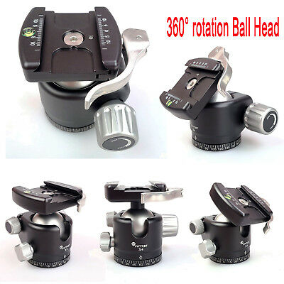 FITTEST X4L 360° rotation Panoramic Low Profile Ball Head w/Lever Release Clamp
