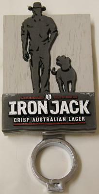 Collectible Iron Jack Double Sided Tap Top  - Exc
